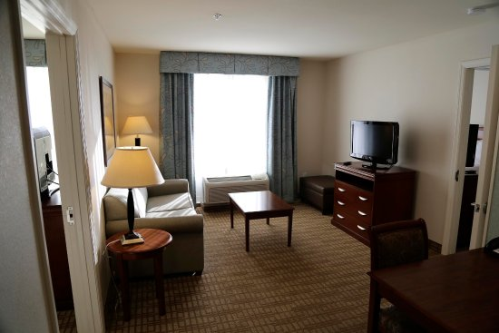 Homewood Suites by Hilton Wilmington/Mayfaire: Two Bedroom Suite Living Room