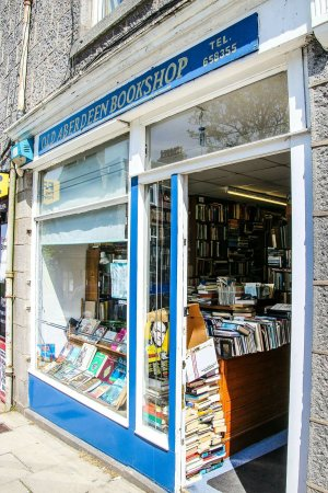 Old Aberdeen Bookshop