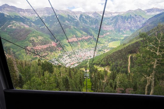 Telluride, CO: Riding the Gondola in the summer