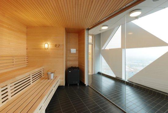 Kista, İsveç: Scandic Victoria Tower Sauna