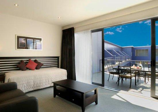Gisborne, Nueva Zelanda: Hotelroom