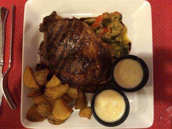 La Ripaille : L'entrecôte sauce camembert