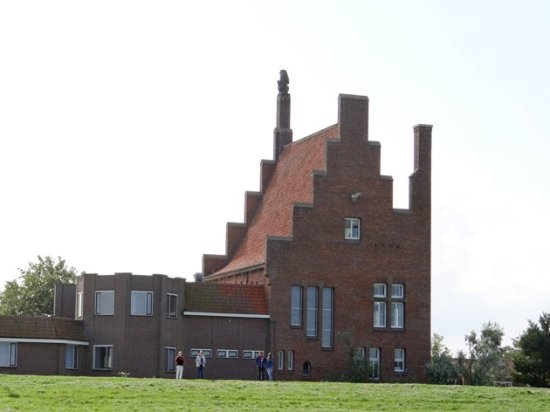 Medemblik, The Netherlands: seen from the sea