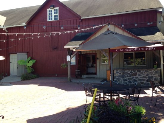 Chaddsford Winery,, housed in an old dairy barn