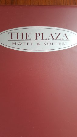 Plaza Hotel and Suites: info book