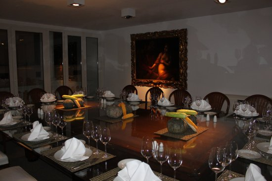 Hotel Club Frances: Private Dinning Room