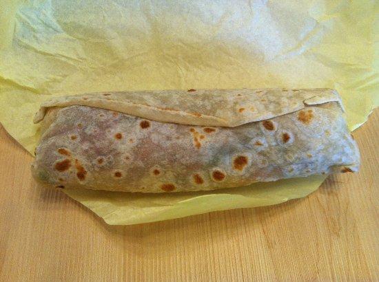 Goodland, Канзас: Delicious, generous burrito!