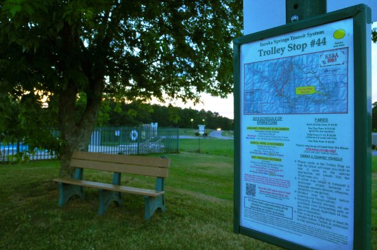 Regency Inn: Trolley Stop