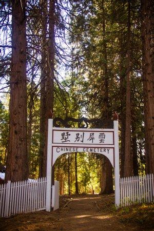 Nevada City, CA: Chinese Cemetery