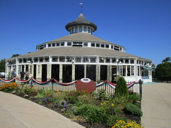 East Providence, RI: Crescent Park Looff Carousel.