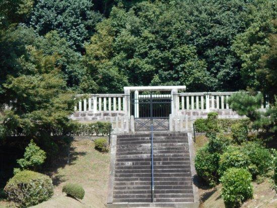 The Mausoleum of Emperor Shomu the Mausoleum of Empress Komei