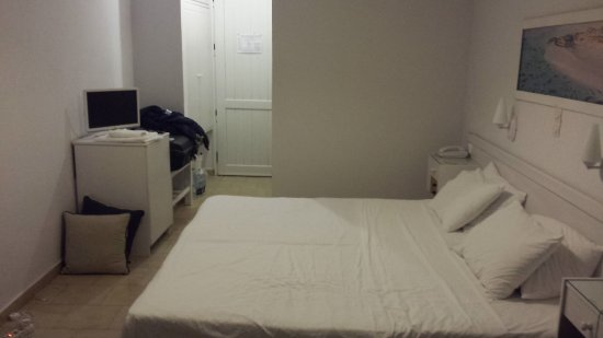 Chryssana Beach Hotel: Angenehme Zimmergröße.