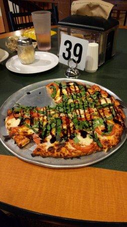 Boulder Creek, Kalifornien: Margarita Pizza