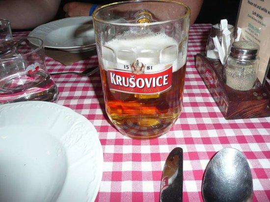 Pivo & Basilico: My pint of beer