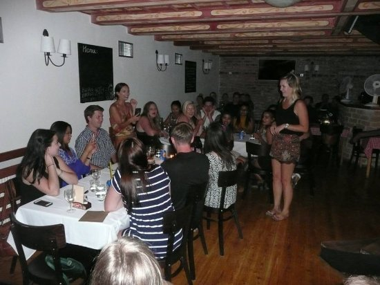 Pivo & Basilico: My group and dining area