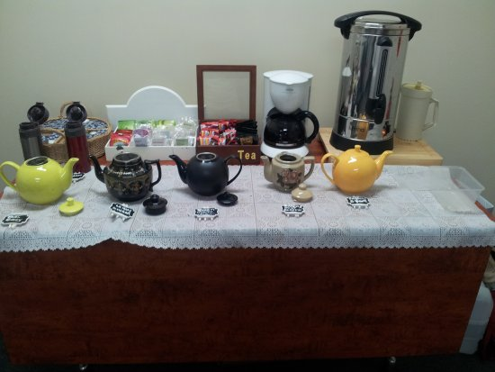 Lismore, Australia: Morning Tea Set up