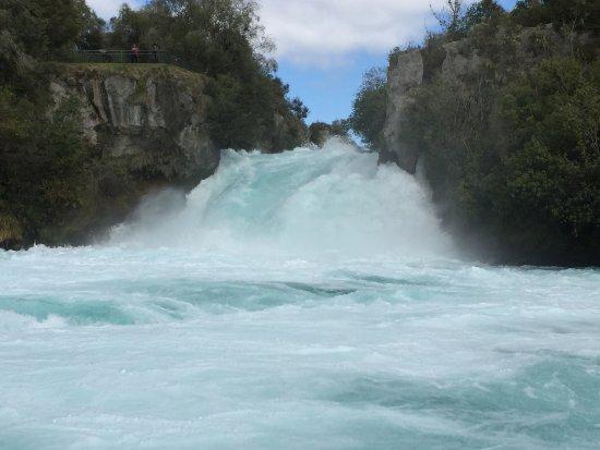 Taupo, Yeni Zelanda: Huka Falls