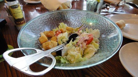 Newington, New Hampshire: Salada deliciosa.