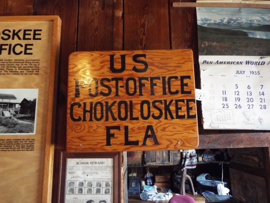Chokoloskee, ฟลอริด้า: Smallwood's