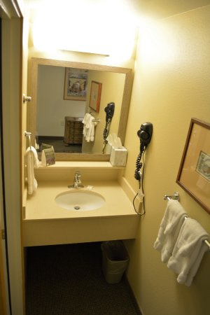 Old Style Small Bathroom Picture Of Fairbanks Princess Riverside - Lodge style bathroom