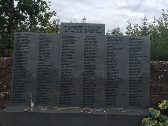 Lockerbie, UK: Names of all who lost their lives