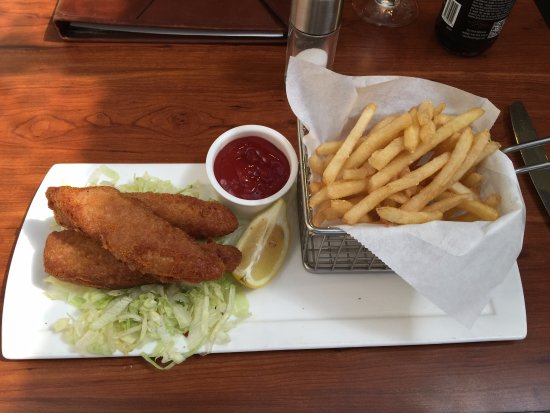 Sheraton Pentagon City Hotel: Fish & Chips