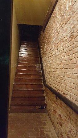 Ghost Tours of Galveston: Creepy stairs...