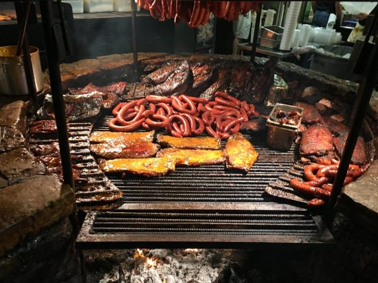 Driftwood, TX: BBQ Pit Close Up