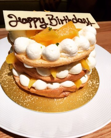 Remarkable Birthday Cake By Hotel Picture Of Grand Hyatt Sanya Haitang Bay Birthday Cards Printable Opercafe Filternl