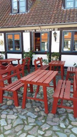 Praestoe, Danimarka: Restaurant Kaktus