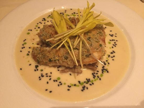 Alan Wong's Restaurant: Short rib, ginger crusted onaga, da bag