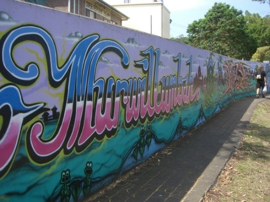Murwillumbah graffiti