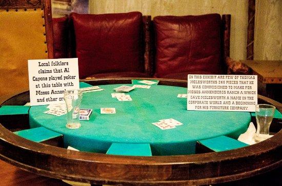 Sundance, WY: Al Capone played poker here