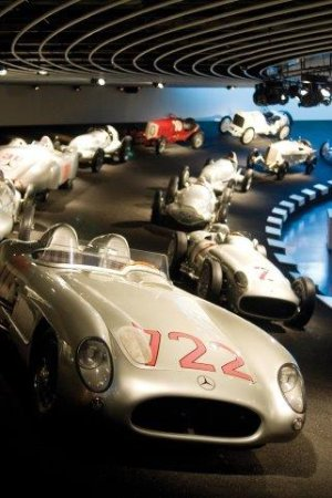 Germany: Mercedes-Benz Museum,Stuttgart