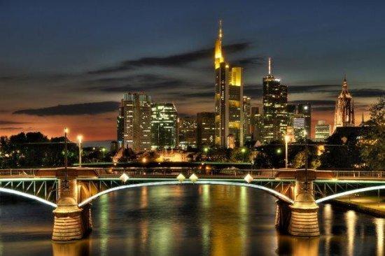 Germany: Skyline of Frankfurt