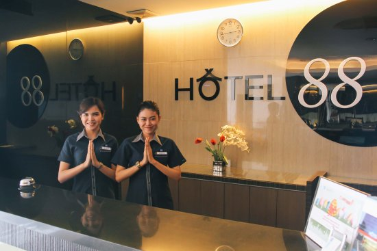 Receptionist - Picture of Hotel 88 Mangga Besar 120, Jakarta ...