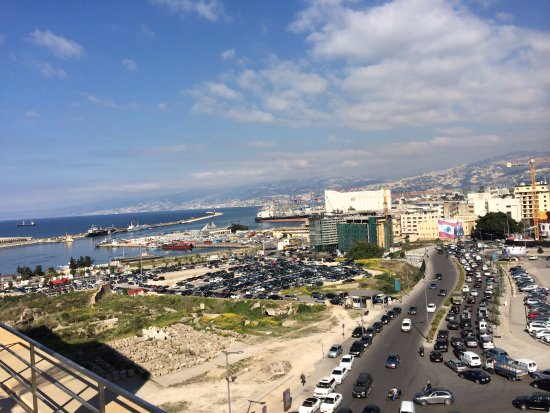 Le Gray Beirut: View from rooftop