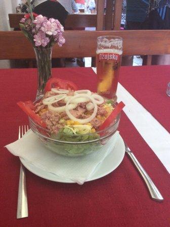 Trilj, Croatia: Delicious Tuna salad