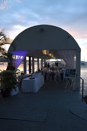 Wedding Reception On The Jetty Picture Of Coral Sea Marina