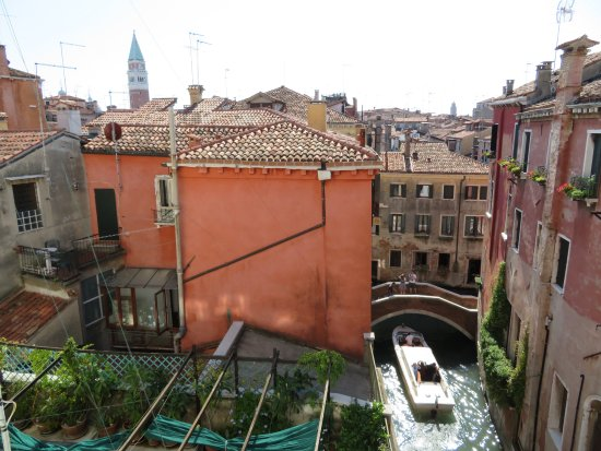 Ruzzini Palace Hotel: View from room 304