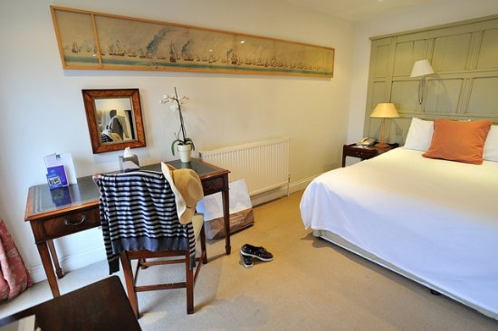The Swan Hotel: Come stay in one of our rooms.
