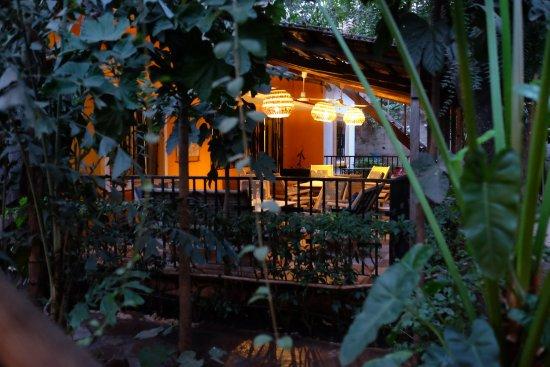 Auberge Djamilla: Terrase