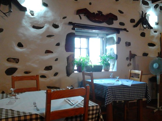 Faja Grande, Португалия: Dining room