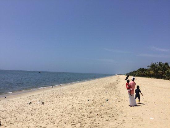 Marari Beach: north side