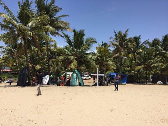 Marari Beach: beachside