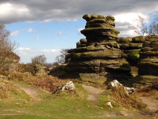Hutton le Hole, UK: Brimham Rocks.