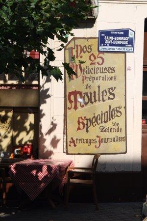 Au Vieux Bruxelles: De l'extérieur.