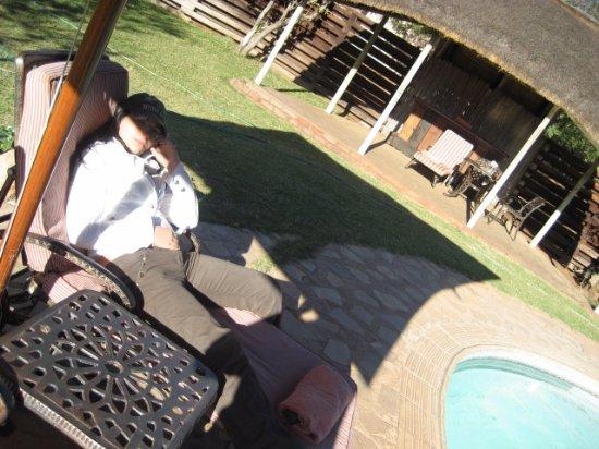 Balule Private Game Reserve, Sør-Afrika: si dorme!