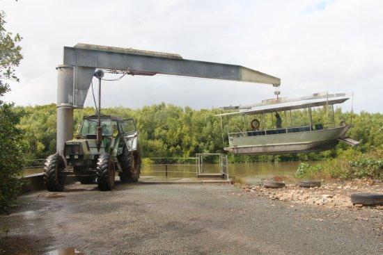 Whitsunday Crocodile Safari: Tour boat