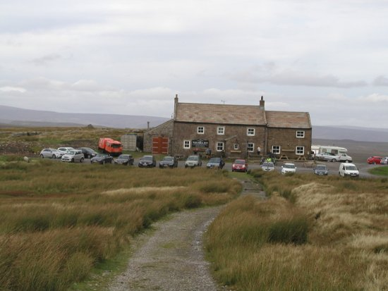 Low Row, UK: View from the moor